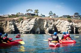 KAYAKING IN LA JOLLA COVE